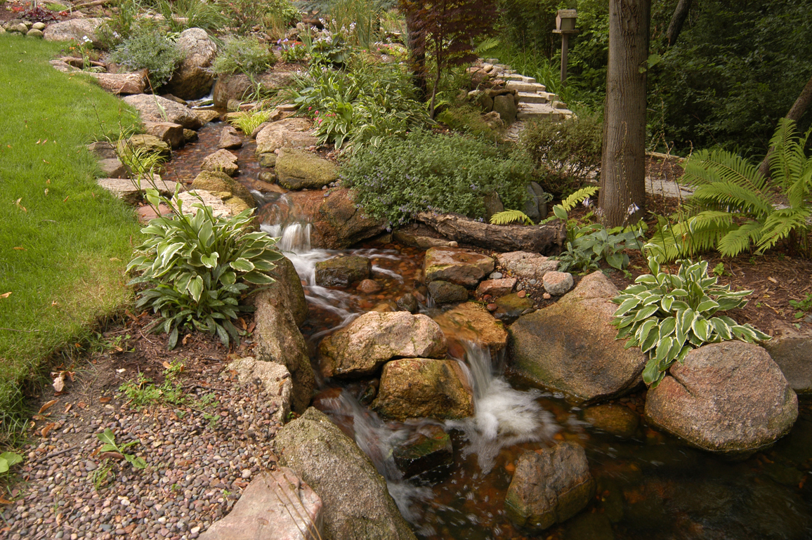 Waterfall features valleywide ponds for Waterfall features for ponds